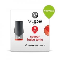 Cartouche Pod Vype pen 3 Fraise Tonic...