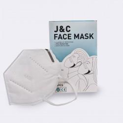 Masques de protection KN95/FFP2 x10