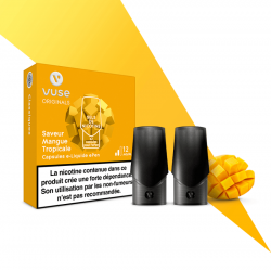 2 capsules Epen Mangue Tropicale Sels de nicotine 12mg