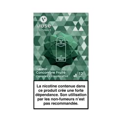 2 Capsules VPRO Epod Concombre Fruité 1,9ml