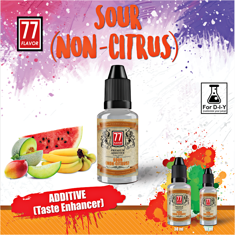 Additif Sour Non Citrus 10mL [77 Flavor]