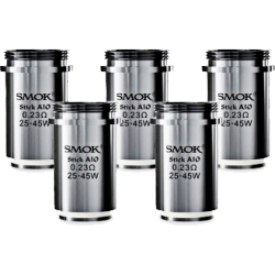 Mèches Stick Aio 0.23ohm x5 [Smok]