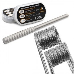 Fil résistif Flat Clapton Wire, 32ga 10ft [Geek Vape]